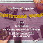 CHRISTMAS WORK au BivouaK' le 20 Décembre 2018