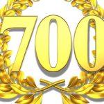 On passe le cap des 700 abonnés !