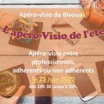 """Apéro-Visio n°4 : """"L'Apéro-Visio de l'été !"""""""