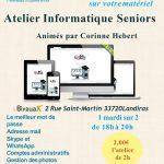 Les Ateliers Informatique avec AI33 au Bivouak'